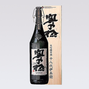 奥の松 大吟醸雫酒 十八代伊兵衛 1800ml